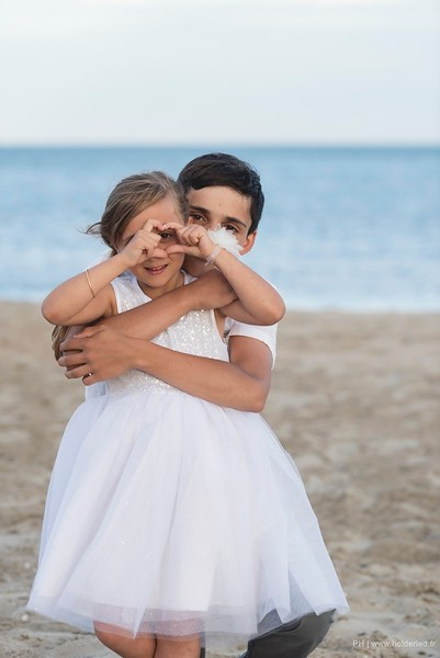 shooting photo  Shooting photos pro d'enfants sur la plage