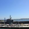 USS Midway and the Coronado bridge