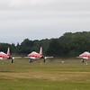 The Patrouille Suisse - Northrop F-5E Tiger II (Swiss Air Force Aerobatic Team)