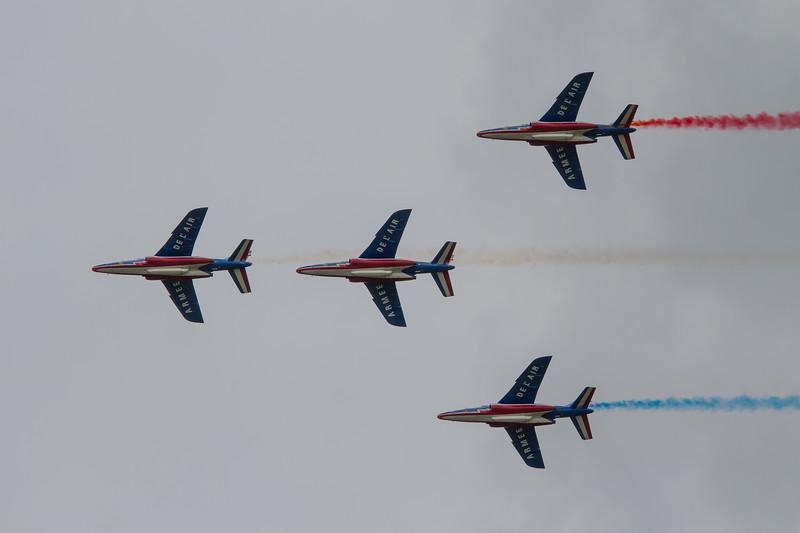 The Patrouille de France -Dassault/Dornier Alpha Jet Es