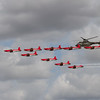 PC-7 Team - Pilatus NCPC-7 Turbo trainers and Airbus Helicopters AS332M1 Super Puma