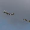 1959 English Electric Canberra PR9 / 1958 Hawker Hunter
