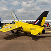 """1964 Folland Gnat T.Mk.1 """"Yellowjacks display team"""""""