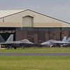 Lockheed Martin F-22A Raptor / McDonnell Douglas F/A-18F Super Hornet