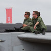 RAF Pilots Watching the air display