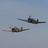 1941 Curtiss P-40F Warhawk / 1939 Curtiss-Wright Hawk 75