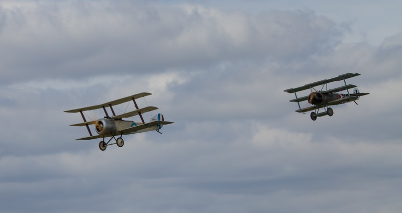 "Sopwith Triplane ""Replica"" & Fokker Dr1 ""Replica"""
