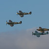 1940 Hawker Hurricane Mk 1 / Supermarine Spitfire