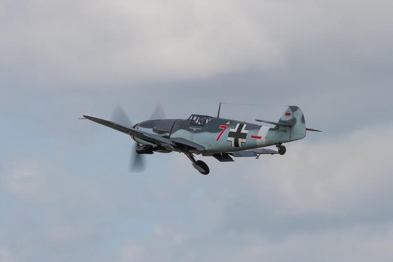 """1950 Messerschmitt Me-109G-4 """"Red Seven"""""""