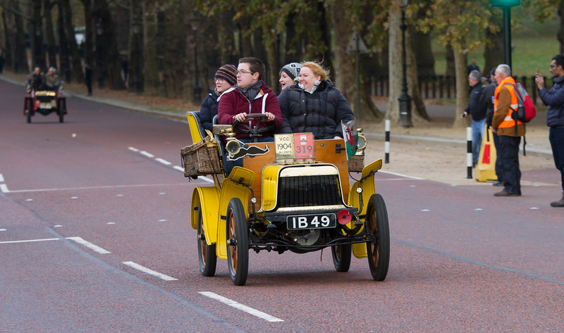 1904 Alldays 7hp Three-seater