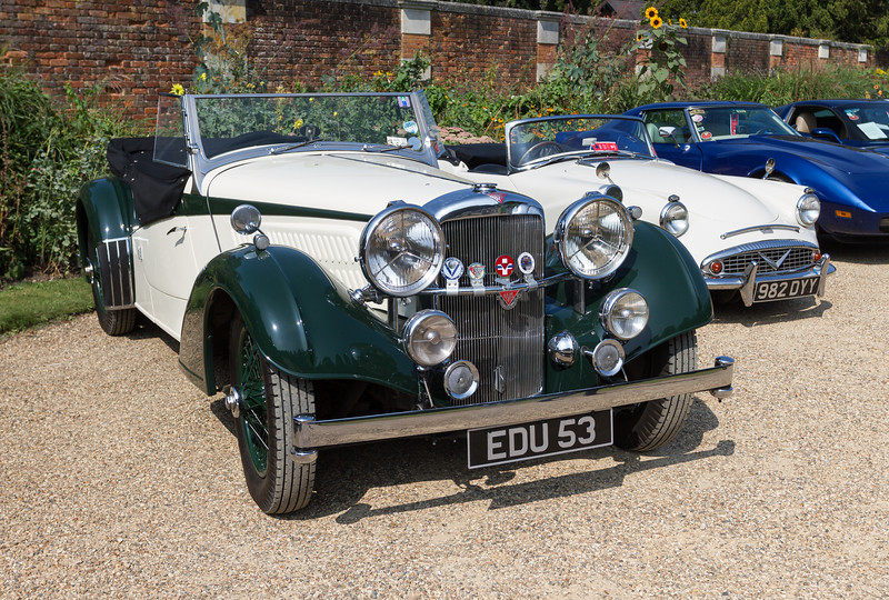 1939 Alvis 4.3 Litre Short Chassis Tourer