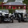 1933 MG K1 Magnette / 1934 Aston Martin 1½ litre Mk.II Short-chassis Tourer