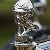 Goddess of Wisdom Mascot - 1928 Minerva AF Transformable Town Car by Hibbard & Darrin