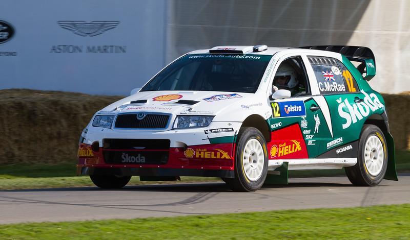 2005 Skoda Fabia S2000 WRC