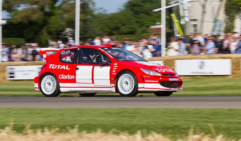 2000 Peugeot 206 WRC