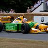1992 Benetton-Cosworth B192