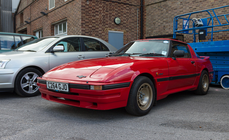 1986 Mazda RX7 2