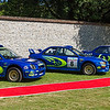 Subaru Impreza 555 Rally Cars