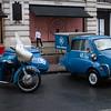1961 Norton ES2 Motorcycle Combination and 1959 BMW 3-Wheel Isetta