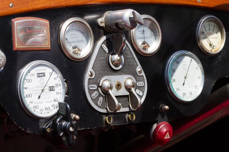 1926 Hispano Suiza H6B Galle Dubos Twin Cockpit Boattail