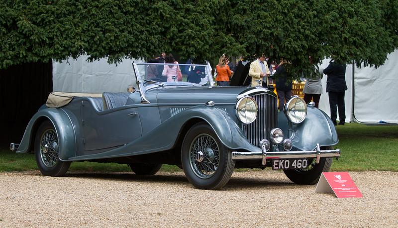 1937 Bentley 4 ¼-Litre Vanden Plas Open Tourer