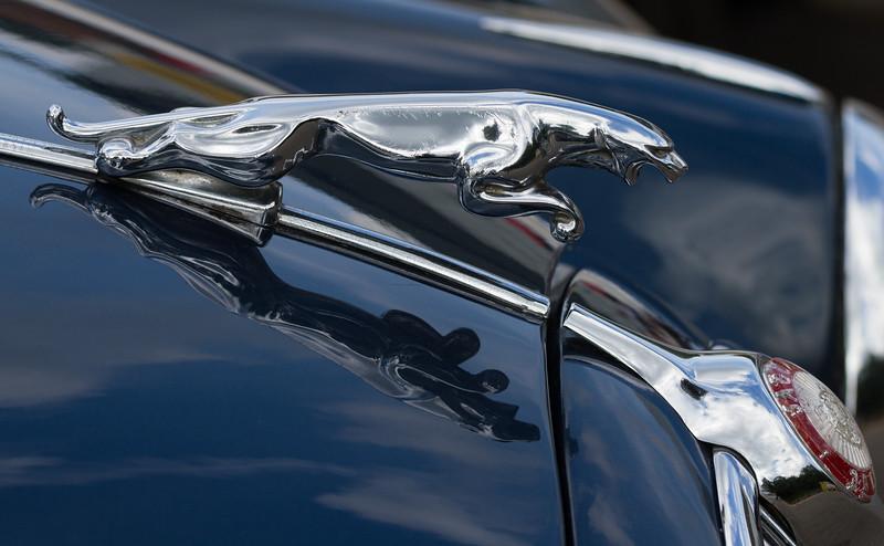 Leaping Jaguar Mascot / 1961 Jaguar Mk.II 3.8
