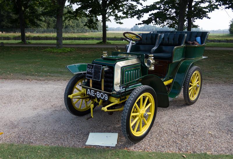 1903 Darracq 8hp Tonneau Body
