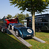 1952 Jaguar C-type / 1959 Commer TS3 Ecurie Ecosse Car Transporter