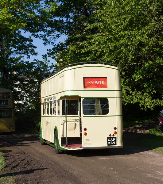 1940 Bristol K5G Open-Top Double-decker bus