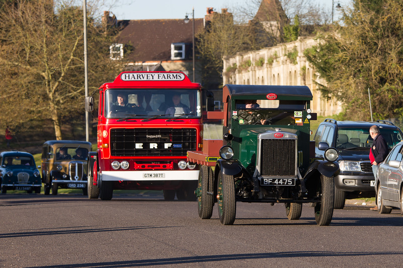 1929 GUY Flatbed Lorry