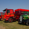 1946 Morris-Commercial CVF Dropside Lorry and 1984 - Scania 112M  tractor unit