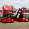 Volvo B7TL / Plaxton President Double-decker bus / 2013 Wright NBFL / New Routemaster Double-decker bus