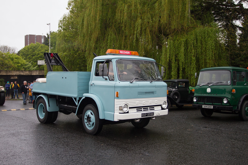 1964 Ford D Series Breakdown Recovery Lorry