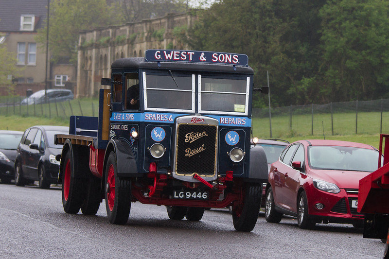 1932 Foden R Type Flatbed Lorry