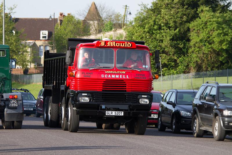 1978 Scammell Routeman Tipper Lorry