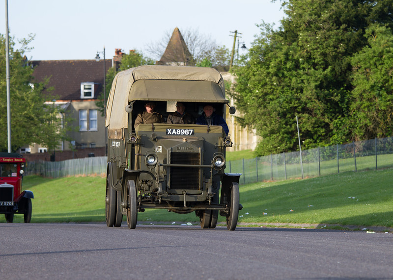 1917 - Hallford Model EIDI-80 Lorry