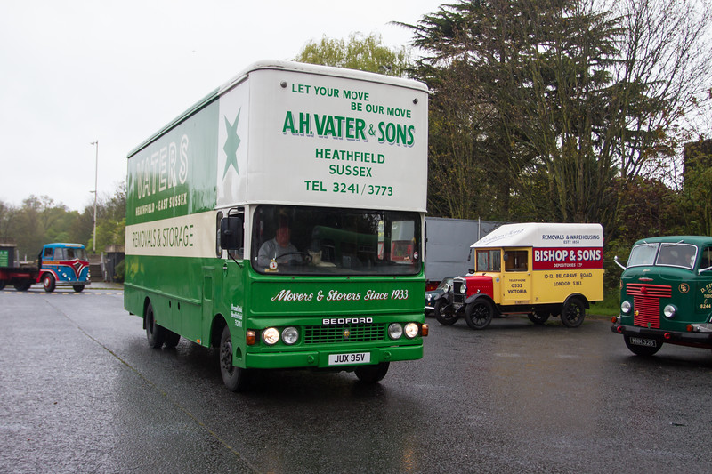 1980 Bedford TK Removal Van