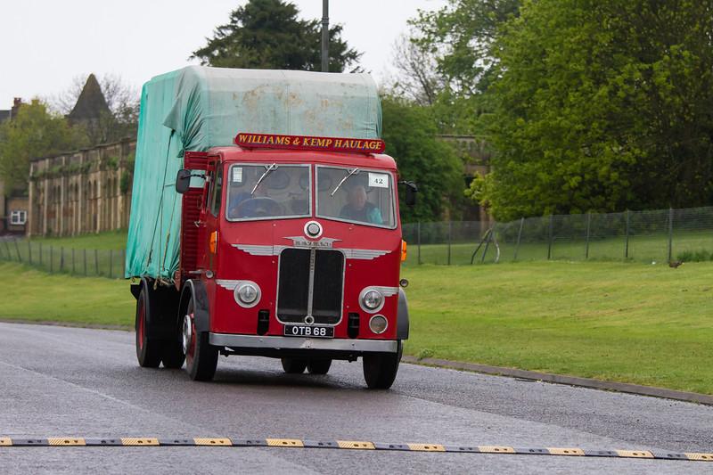 1952 Leyland Beaver Flatbed Lorry