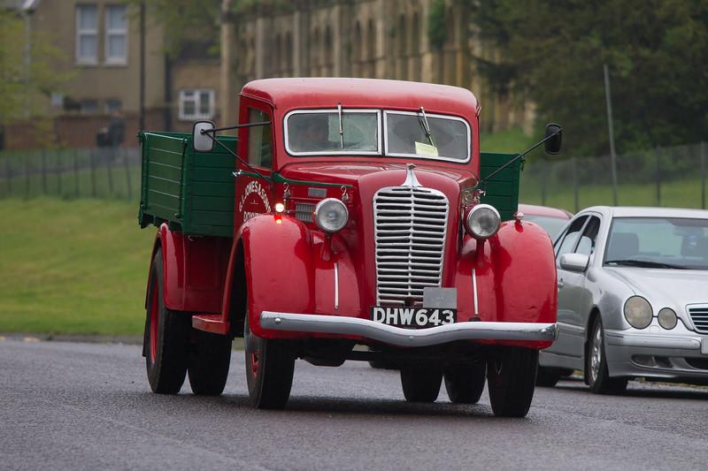 1937 Diamond T Model 66 Dropside Lorry