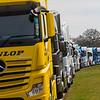 Line of Lorries