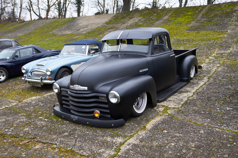 1948 Chevrolet Custom Pickup truck
