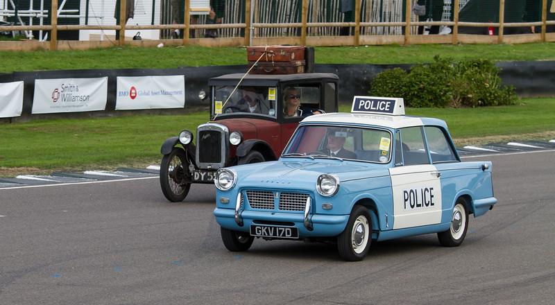1963 Triumph Herald 1200 Police Car