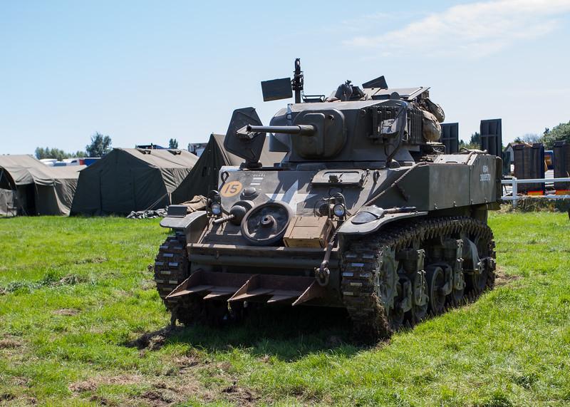 1943 Stuart Light M5a1 Tank