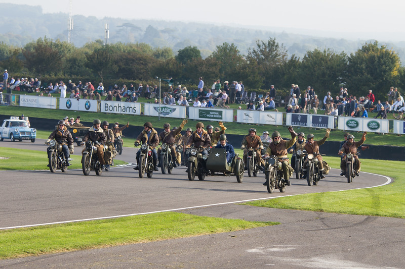 Military Motorcycles Display