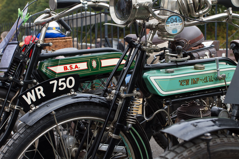 B.S.A and New Imperial Motorcycles