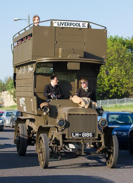 1914 AEC B Type Double-decker Bus