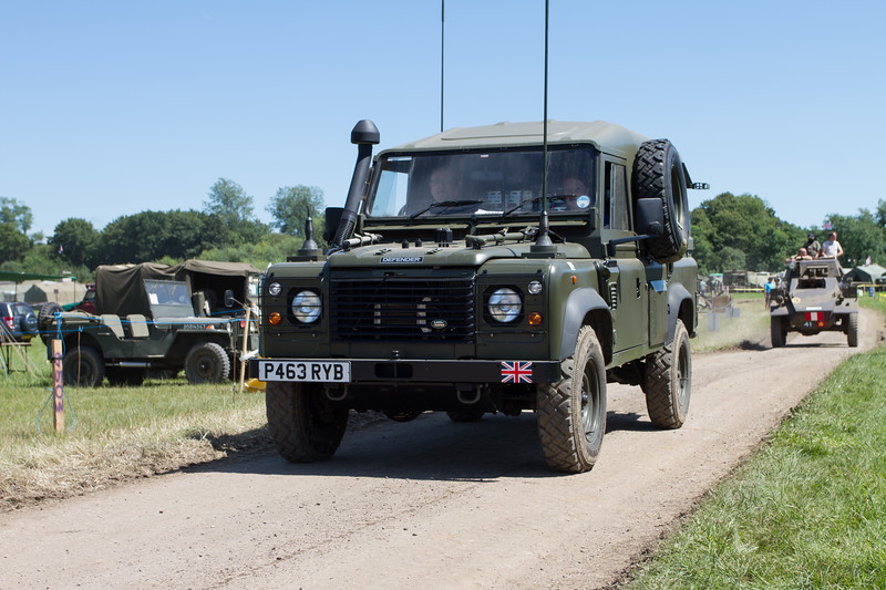 1997 Land-Rover Defender 'British Amy'