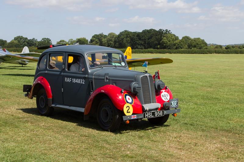 1938 Hillman Minx RAF Bomb Disposal Car