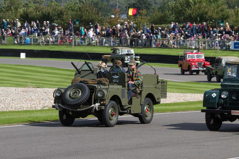 "1955 Land-Rover Series 1 86in ""SAS"""