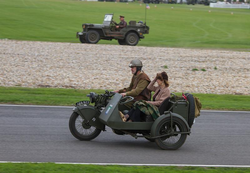Norton Big 4 Plus Sidecar